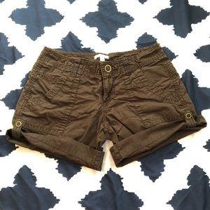 GAP Chocolate Brown Surplus Shorts Sz 1
